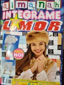 coperta almanahului Integrame cu umor