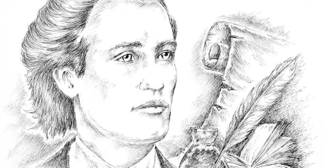 Mihai Eminescu-grafica Mihai Catruna