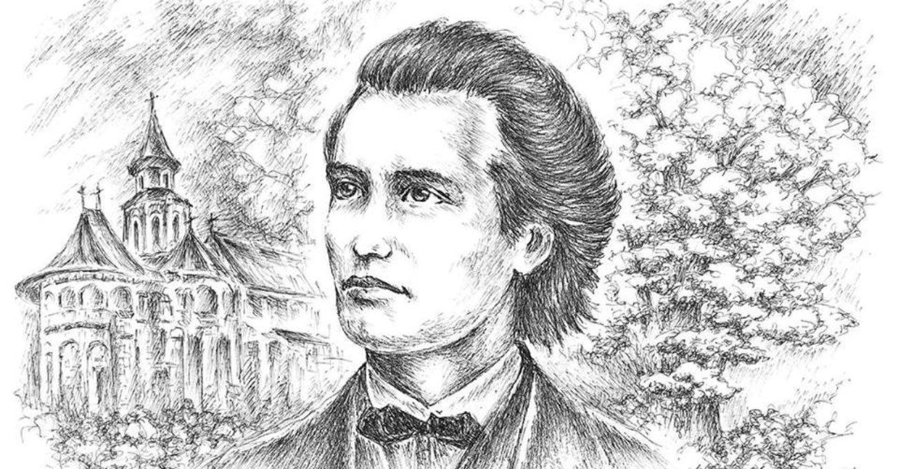 Mihai Eminescu grafica