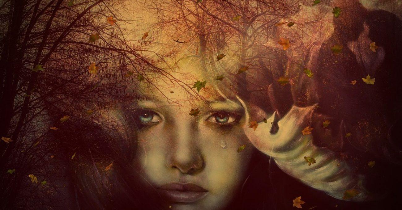 Tăcere în lacrimi-poezie de dragoste